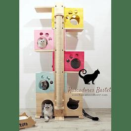 Rascador Familia Gato