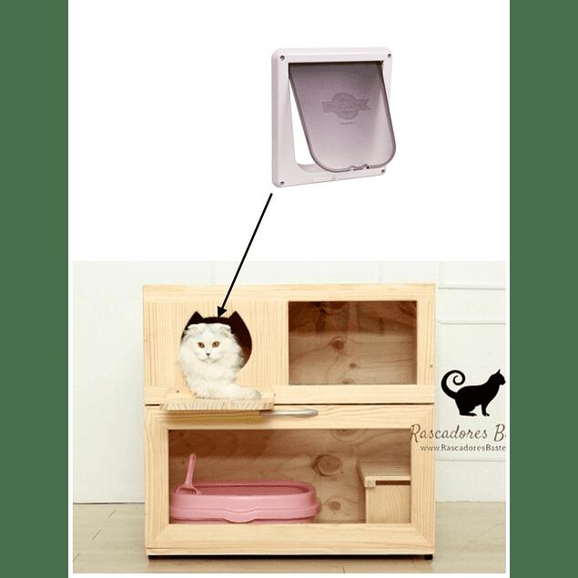 Mueble arenero modificado