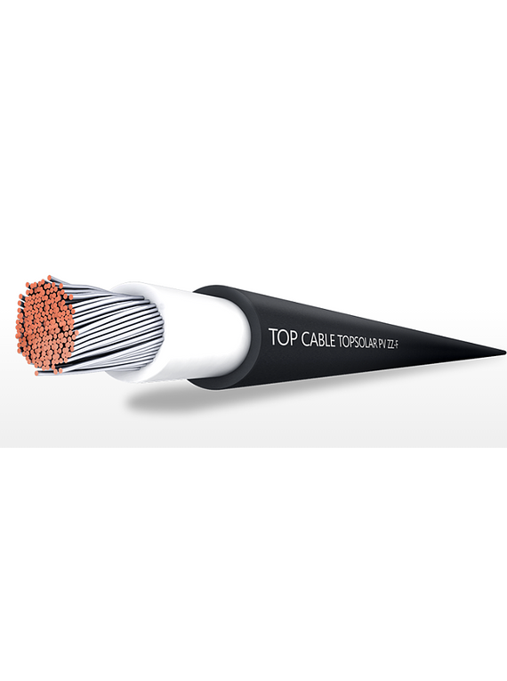TOP CABLE SOLAR NEGRO 4MM