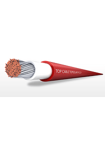 CABLE SOLAR TOPCABLE 6MM2 ROJO