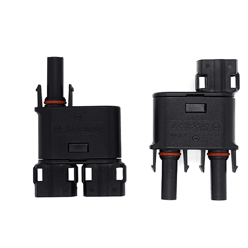 PAR CONECTOR MC4 DOBLE