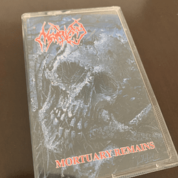 MORTIFY - Mortuary Remains CASSETTE