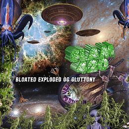 SLAM420 - Bloated Exploded OG Gluttony CD