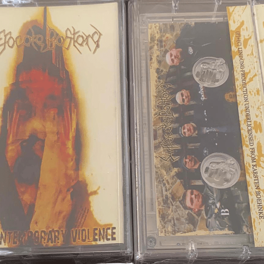 SUFFOCATE BASTARD - Acts Of Contemporary Violence CASSETTE