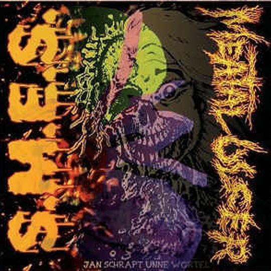 MEATAL ULCER / S.M.E.S.  - Self Titled SPLIT CD