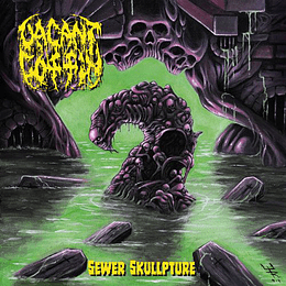 VACANT COFFIN - Sewer Skullpture CD