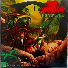 LP - PRO SEPTICO /  WHIRPOOL OF BLOOD - Gnomandia Caníbal / Oscuro y Maldito SPLIT VINYL LP