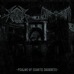 CD - UNSALVATION / DEATHCRAFT - Psalms Of Chaotic Darkness SPLIT