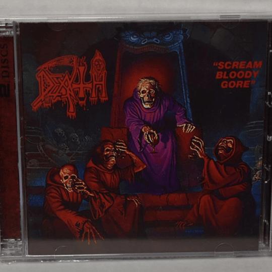 2CD - DEATH - Scream Bloody Gore