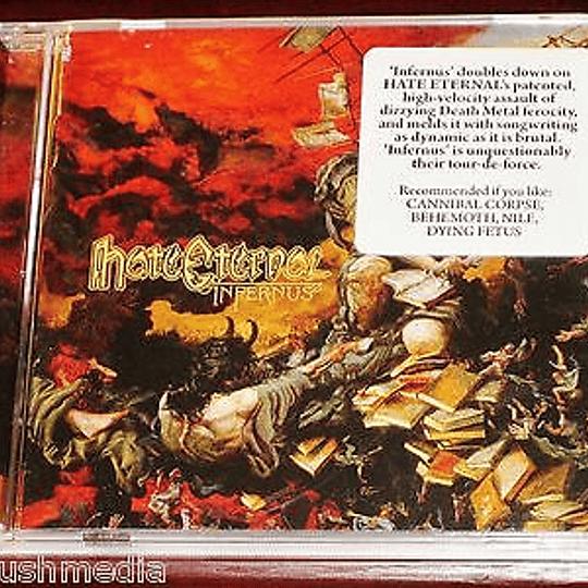 CD - HATE ETERNAL - Infernus