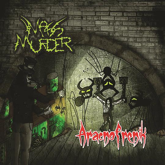 MASS MURDER -  Aracnofrenik CD