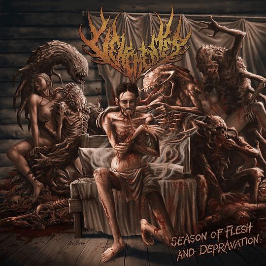 VEHEMENTER -  Season of Flesh and Depravation CD