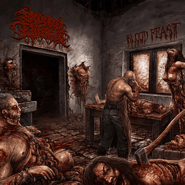SEVERED ENTRAILS - Blood Feast MCD