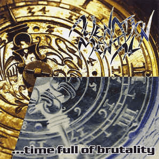 ALIENATION MENTAL - Four Years... ...Time Full Of Brutality CD