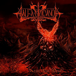 ALFA ERIDANO AKHEMAR  Aztec War Metal CD