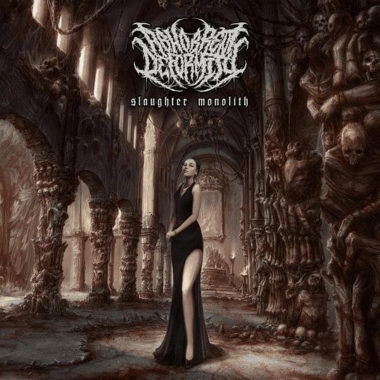 ABHORRENT DEFORMITY   Slaughter Monolith CD
