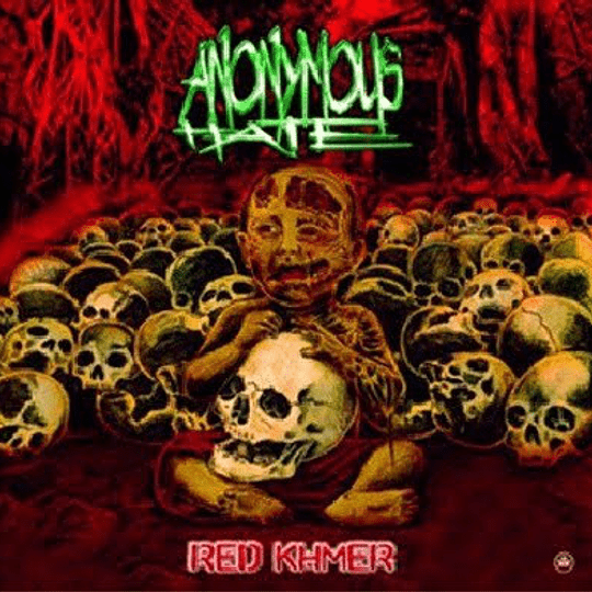 ANONYMOUS HATE  Red Khmer CD