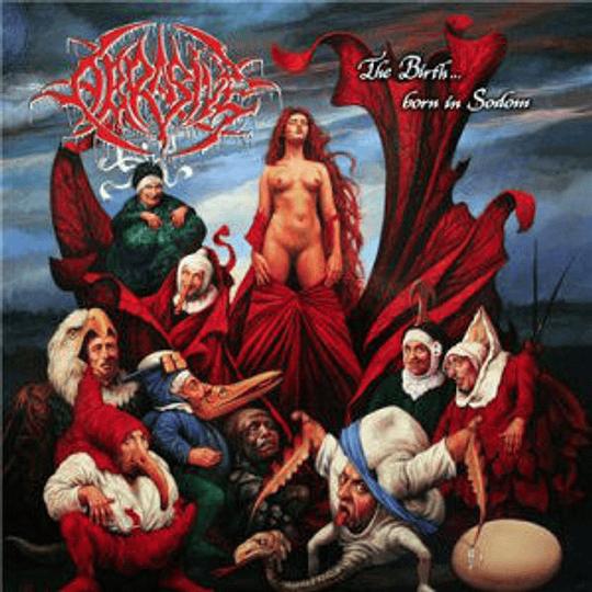 ABRASIVE The Birth ... Born in Sodomy CD