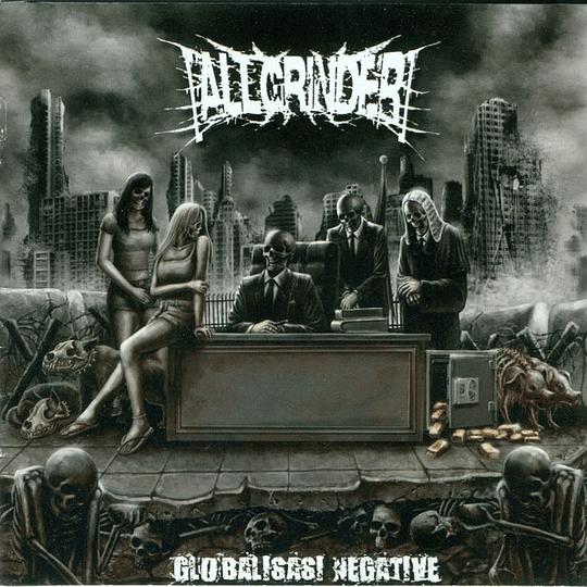 ALLGRINDER - Globalisasi Negative CD