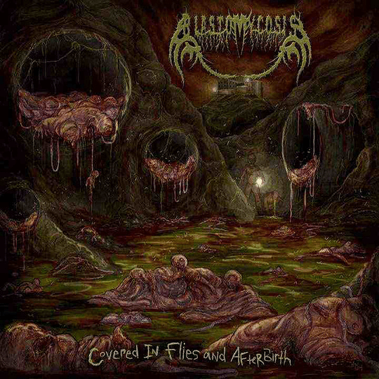 BLASTOMYCOSIS -  Covered In Flies And Afterbirth CD