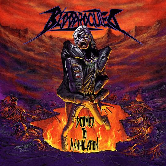 BLOODROCUTED - Doomed To Annihilation CD
