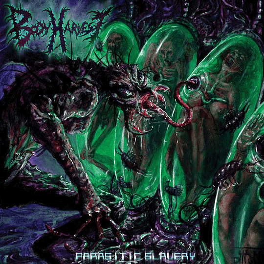 BODY HARVEST - Parasitic Slavery CD