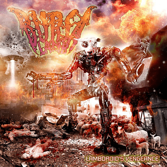 BURSA LAMB - Lambdroid's Vengeance CD