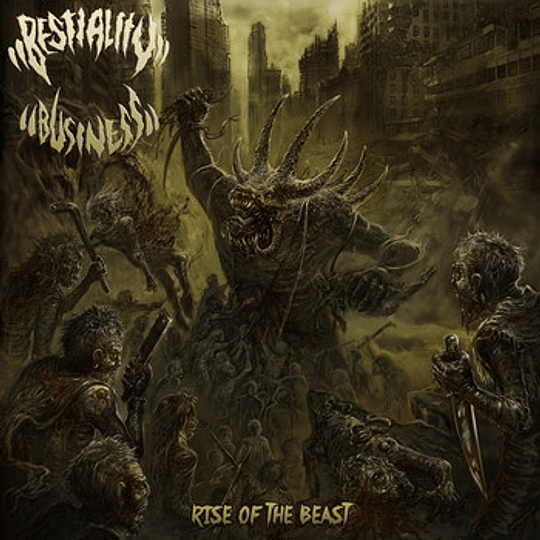 BESTIALITY BUSINESS - Rise Of The Beast CD