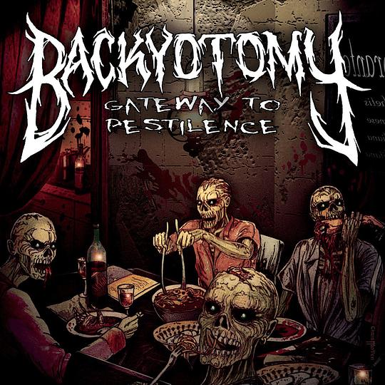 BACKYOTOMY - Gateway To Pestilence CD