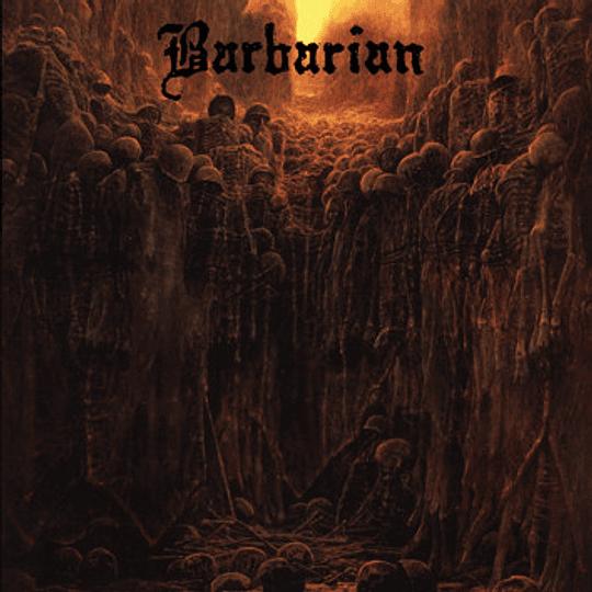 BARBARIAN - S/t CD