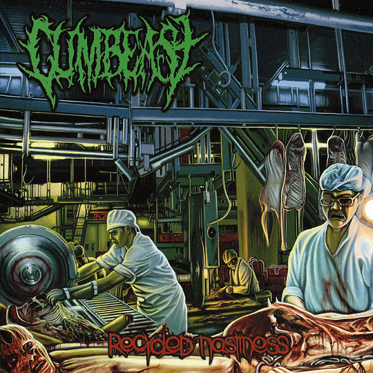 CUMBEAST - Recycled Nastiness CD