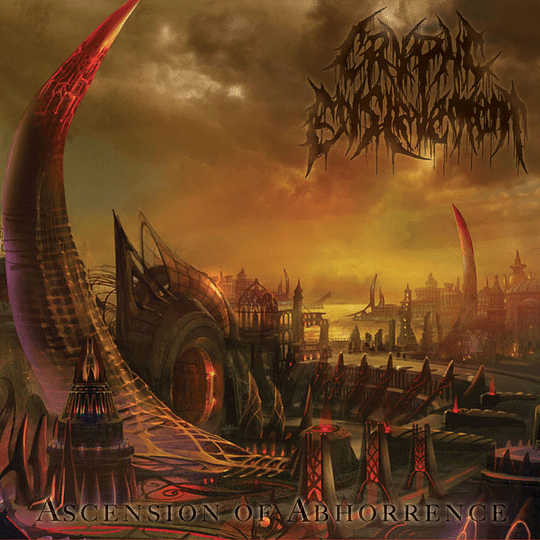 CRYPTIC ENSLAVEMENT - Ascension Of Abhorrence CD