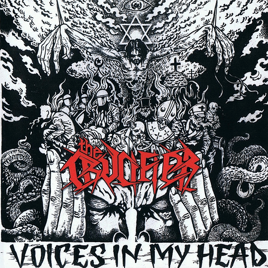 THE CRUCIFIER -  Voices in my Head CD