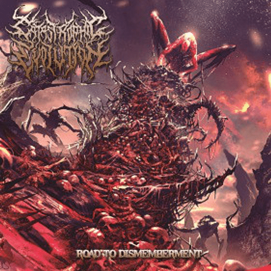 CATASTROPHIC EVOLUTION - Road To Dismemberment CD