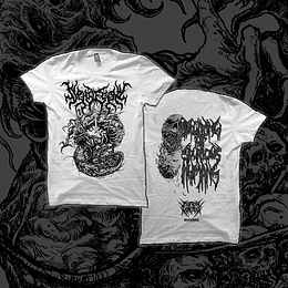 """SYPHILECTOMY """"Decaying Of Spurious Humans"""" BLACK LOGO SHIRT"""