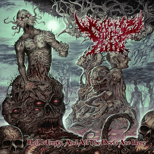 CORPSE COOK - Hell Is Empty, And All The Devils Are Here CD