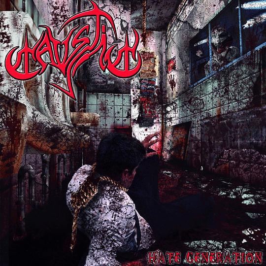 CAUSTIC - Hate Generation CD