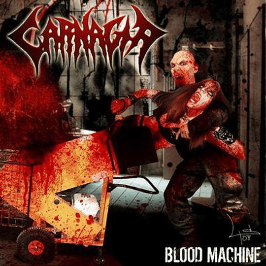CARNAGIA - Blood Machine CD