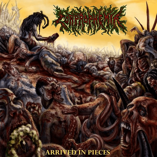 CORPROPHEMIA - Arrived In Pieces CD