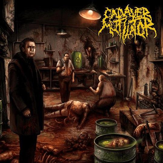 CADAVER MUTILATOR - Murder Death Kill CD