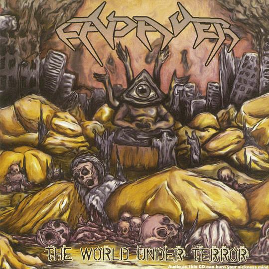 CADAVER - The World Under Terror CD