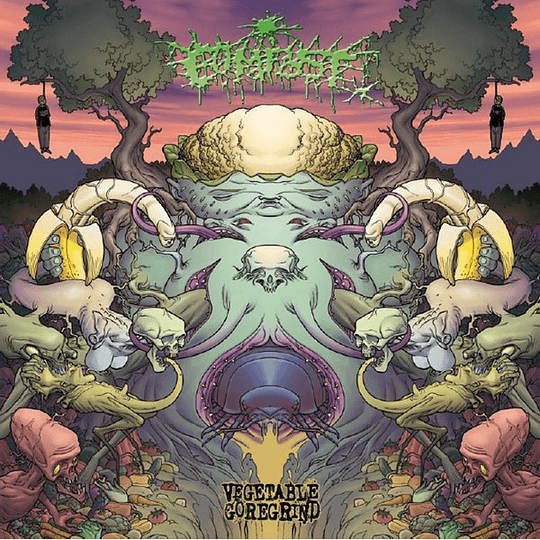 COMPOST -  Vegetable Goregrind (Discography 2008-2013) CD