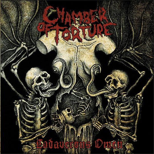 CHAMBER OF TORTURE - Cadaverous Omen CD