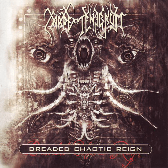 CARPE TENEBRUM - Dreaded Chaotic Reign CD