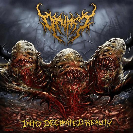 DEVAST -  Into Decimated Reality CD