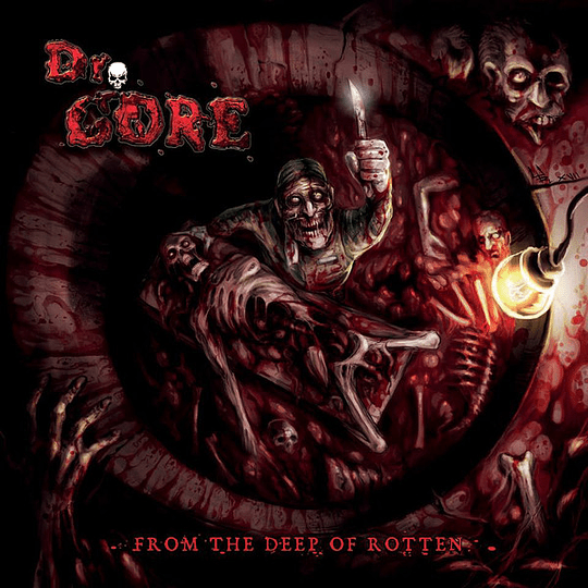 DR GORE - From The Deep Of Rotten CD
