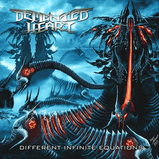 DEMENTED HEART - Different Infinite Equations CD