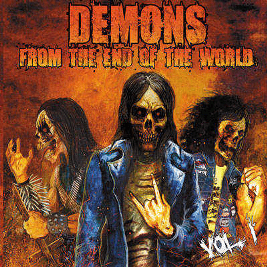 PROFANATOR/KRUDO/METAL COMMAND -  Demons from the End of the World, Vol. 1 SPLIT CD