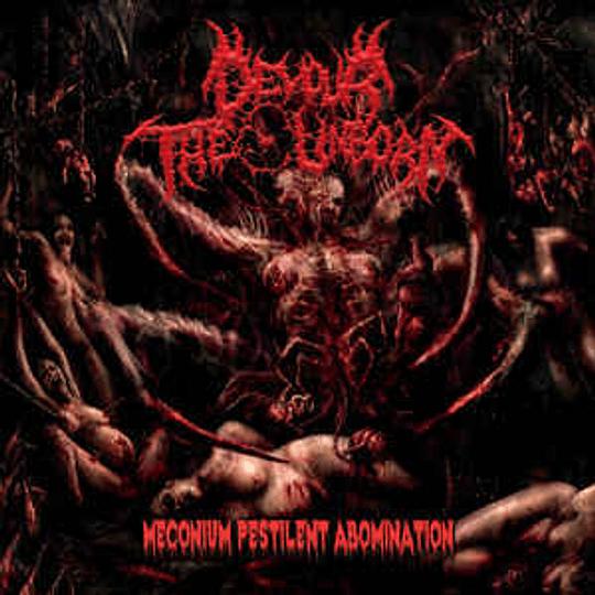 DEVOUR THE UNBORN - Meconium Pestilent Abomination CD
