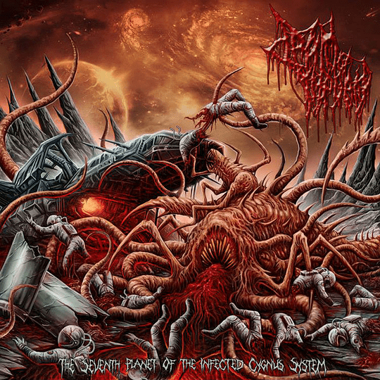 DRAIN OF IMPURITY - The Seventh Planet Of The Infected Cygnus System CD